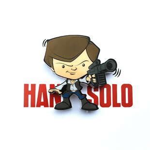 3D Light FX 3D Han Solo Mini Deco 2-Light Night Light