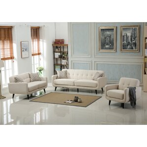 Belves 3 Piece Living Room Set