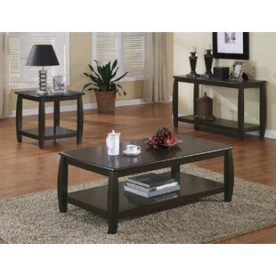 Olaughlin 3 Piece Coffee Table Set