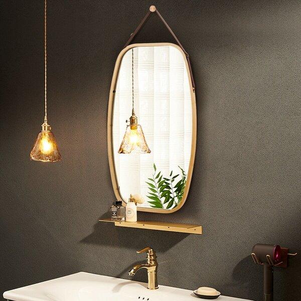 Latitude Run Fareena Modern Bathroom Vanity Mirror Wayfair