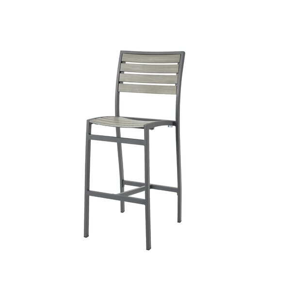 Brilliant Outdoor Aluminum Bar Stools Wayfair Andrewgaddart Wooden Chair Designs For Living Room Andrewgaddartcom