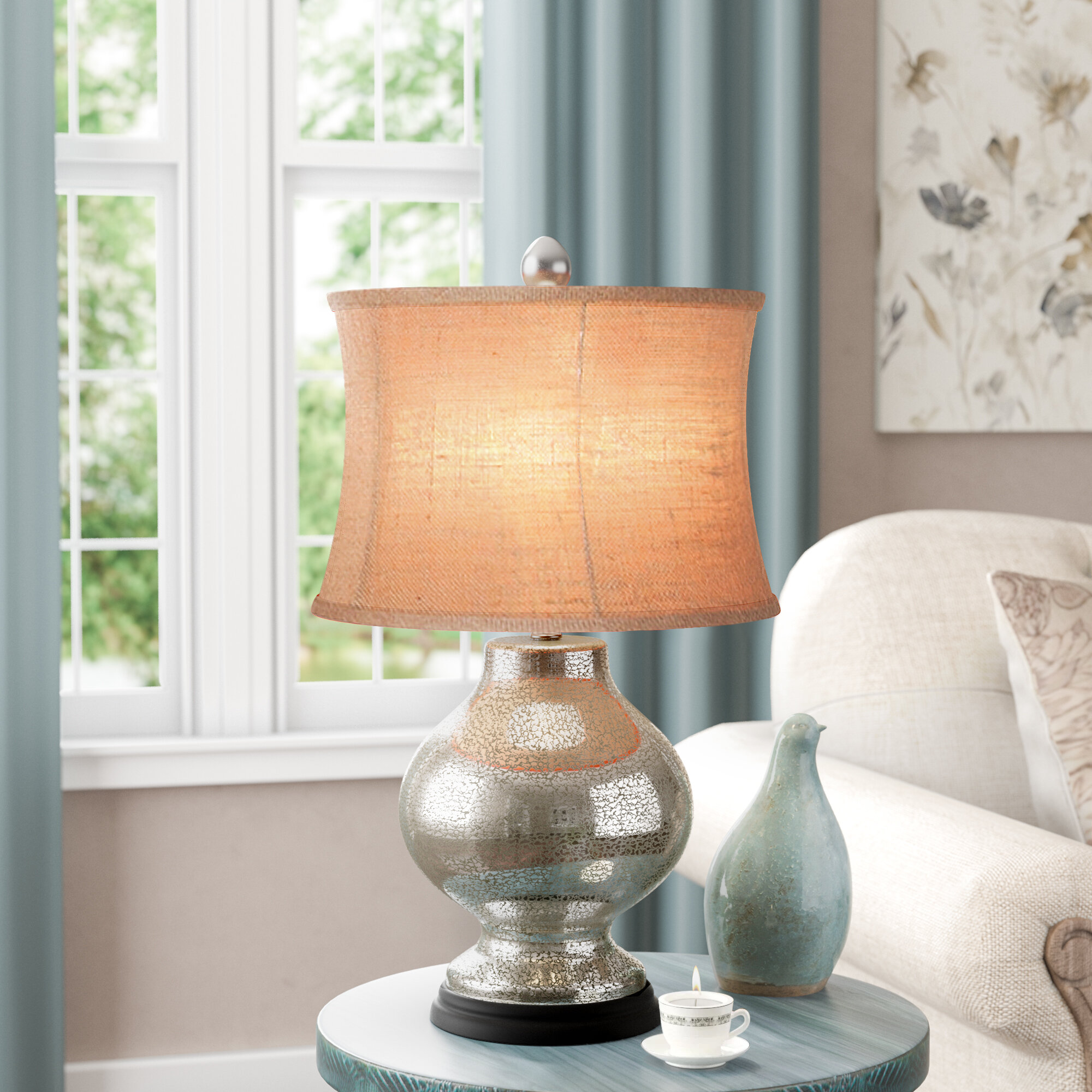 Image of: Mercury Glass Table Lamps You Ll Love In 2020 Wayfair