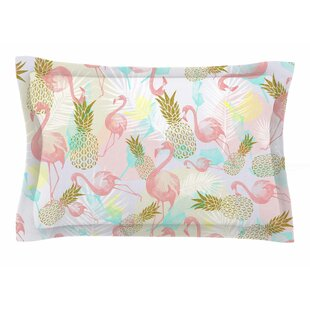 Mmartabc 'Tropical Fruit Animals' Illustration Sham