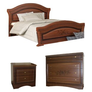 Cormiers Queen Platform Configurable Bedroom Set by August Grove Today Only Sale