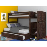 Orval Twin Over Full Bunk Bed with Trundle by Greyleigh™