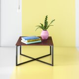 Madelyn Cross Legs Coffee Table by Hashtag Home