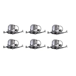 Reviews IC Air Tight New Construction Recessed Housing (Set of 6) By Elegant Lighting