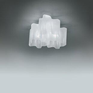 Logico 3-Light Semi Flush Mount ByArtemide