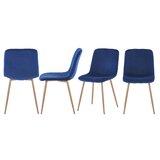 Burnstad Upholstered Dining Chair (Set of 4) by Brayden Studio®