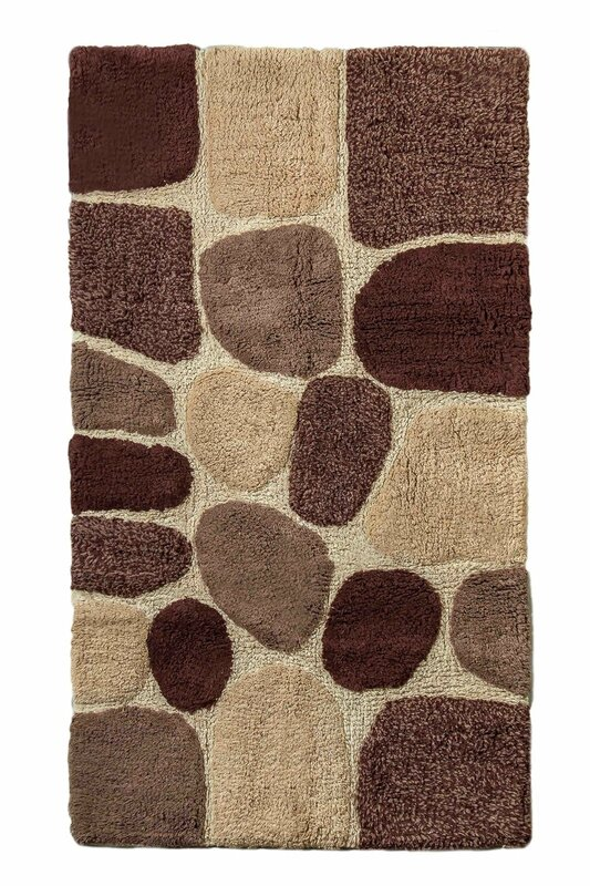 Crover Archangel Ultra Soft Embossed Pebble Stone Bath Mat & Reviews ...