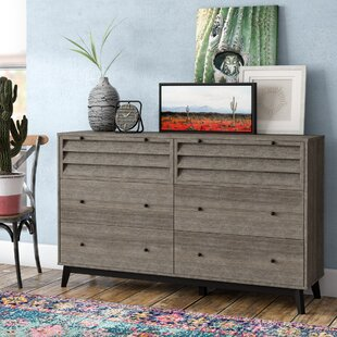 Dover 6 Drawer Double Dresser