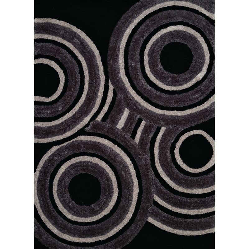 Wrought Studio Fittsblack Area Rug Wayfair