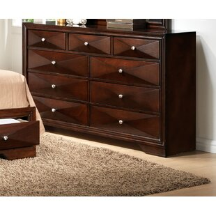 Ivy Bronx Beardsley 9 Drawer Double Dresser