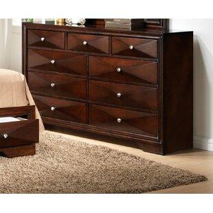 Ivy Bronx Beardsley 9 Drawer Double Dresser