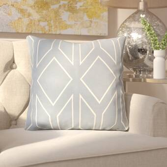 East Urban Home Joy Perseverance Quote Chalkboard Style Pillow Cover Wayfair
