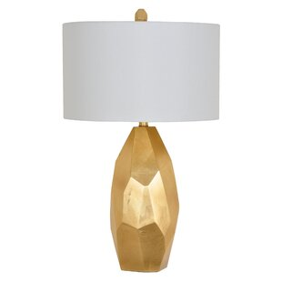 Gold wire table lamp wayfair cadmore 28 table lamp greentooth Choice Image