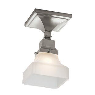 Schaefferstown 1-Light Semi Flush Mount by Alcott Hill