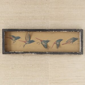 Flying Birds Framed Wall Print