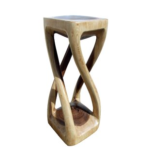Four Legged Twist Accent Stool by Asian Art Imports