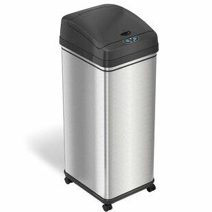 Deodorizer 13 Gallon Motion Sensor Trash Can