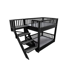 Rosalyn Bunk Bed Dog Bed with Removable Cushions