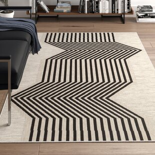 Black Indoor/Outdoor Area Rug