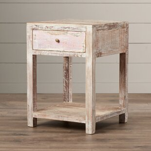 August Grove Posey Stripped Teak End Table