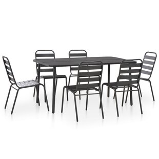 Risborough 6 Seater Dining Set By Sol 72 Outdoor