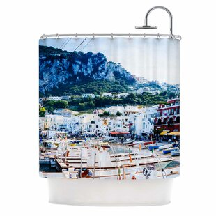 Capri Paradise by Violet Hudson Single Shower Curtain