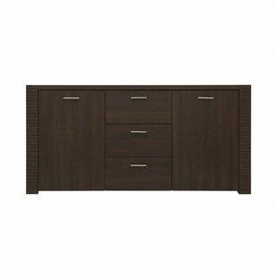 Dugan 3 Drawer 2 Door Accent Cabinet by Orren Ellis