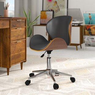 George Oliver Bradford Adjustable Office Low-Back Drafting Chair