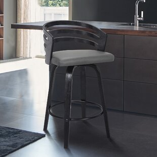 Farquhar 26 Swivel Bar Stool George Oliver
