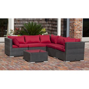 Sino 5 Piece Sectional Set with Cushions