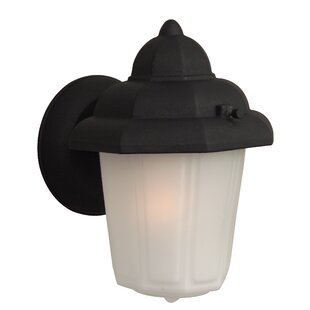 Oakhill 1 Light Outdoor Porch Wall Lantern by Charlton Home