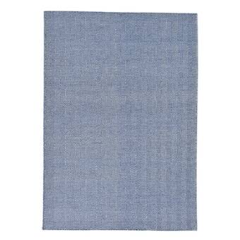 Exquisite Rugs Pavillion Hand Woven Wool Navy Area Rug Perigold