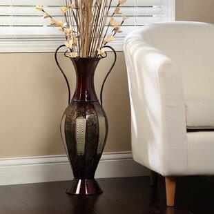Brayden 26'' Metal Floor Vase