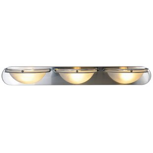 Monument Contemporary 3-Light Bath Bar