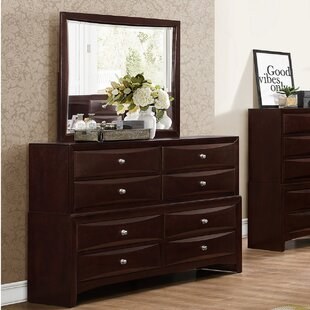 Order Oreland 8 Drawer Double Dresser with Mirror by Red Barrel Studio