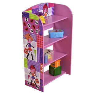 Yesenia 4 Tier 83.6cm Bookshelf By Zoomie Kids