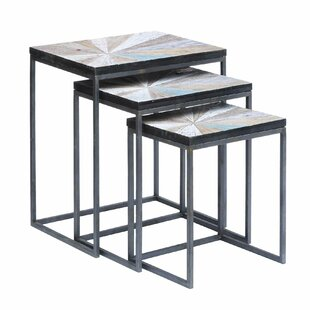 Brayden Studio Kyree 3 Piece Nesting Tables