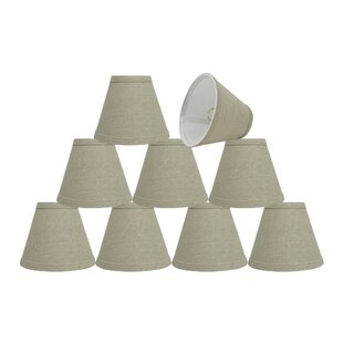 Savings 6'' Fabric Empire Lamp Shade (Set of 9) By Rosecliff Heights