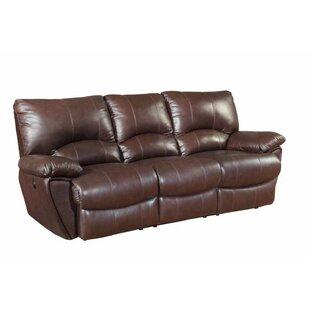 Alicea Leather Reclining Sofa ..