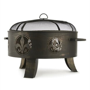 Versailles Steel Fire Pit By Blumfeldt