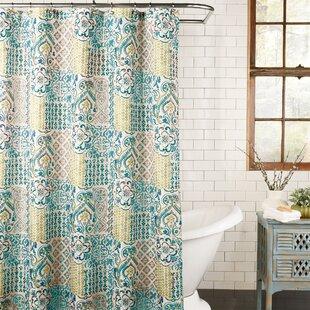 Kull Fabric Shower Curtain ByBloomsbury Market