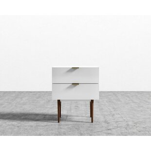 Look for Blaze 2 Drawer Night Stand by Corrigan Studio