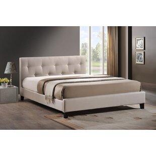 Wrought Studio Casias Upholstered Platform Bed
