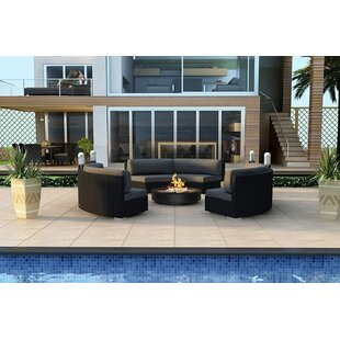 Azariah 3 Piece Sunbrella Sofa Set with Cushions by Orren Ellis