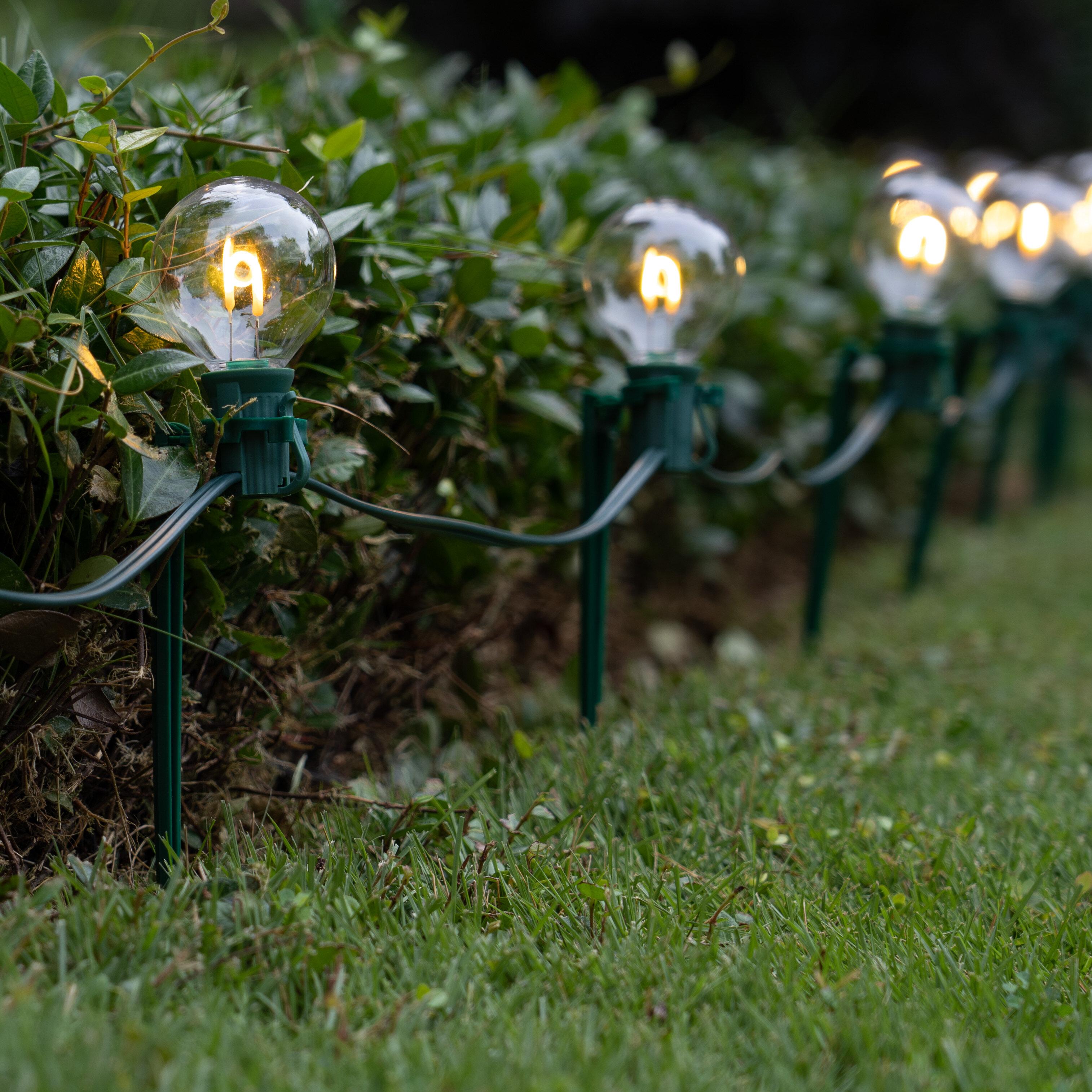 Wintergreen Lighting Clear Line Voltage Plug In Pathway Light Wayfair