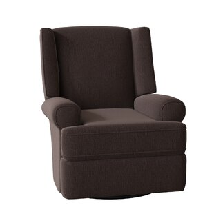 Keya Wingback Swivel Glider Recliner by Red Barrel Studio