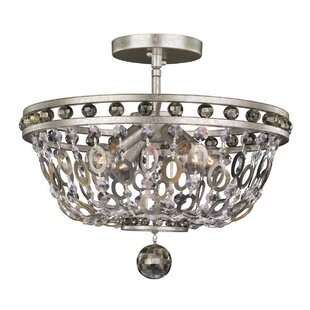 Allegri by Kalco Lighting Lucia 4-Light Semi Flush Mount